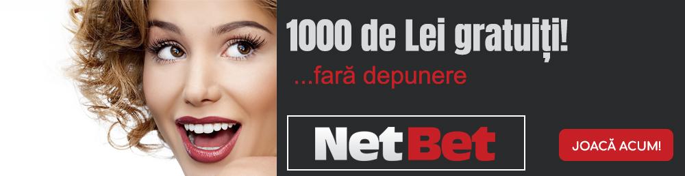 Bonusuri oferite de NetBet
